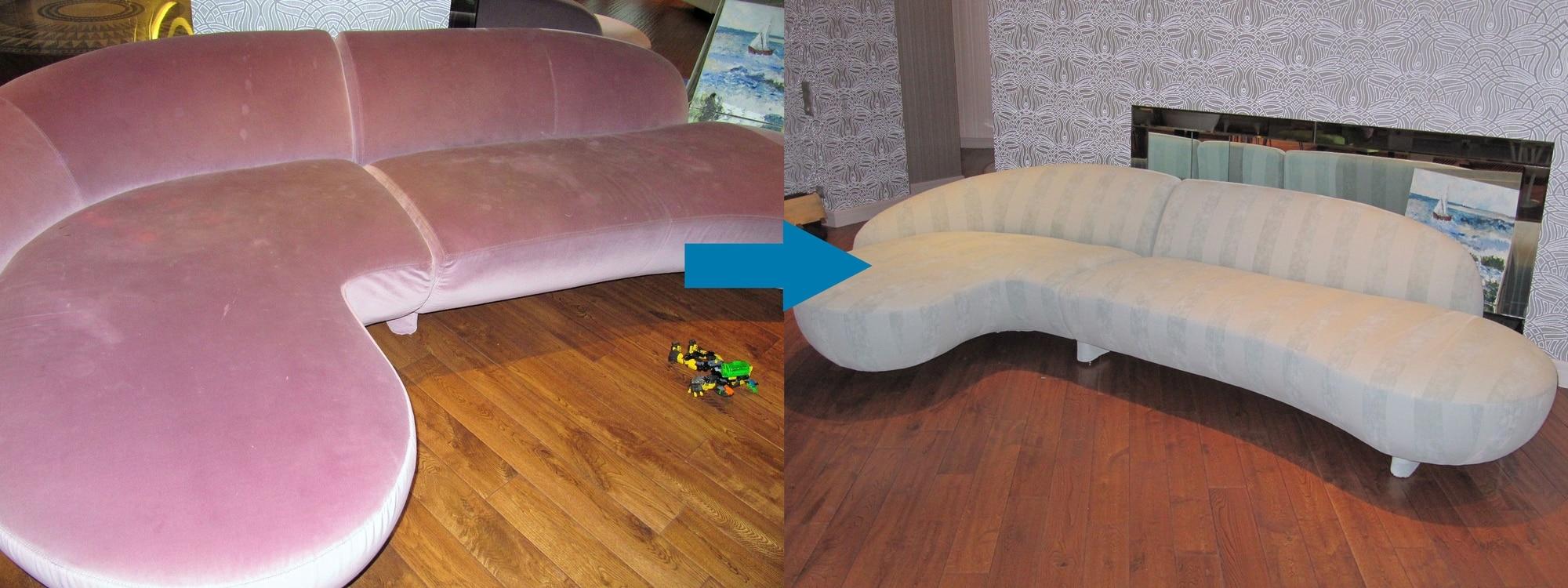 Как заменить обивку дивана своими руками
