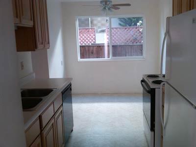 Garden-Style Apartments kitchen