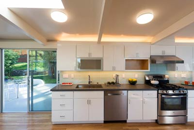 Mid-Century Modern kitchen 2