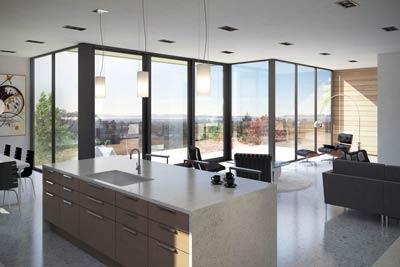 High-End Contempory  interior