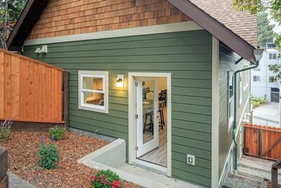 Urban Craftsman Townhomes external 2
