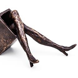 Staanders Bronzen Beeld Project Verborgen benen