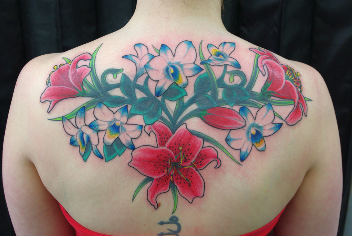 Lilly & Orchid Cover Up