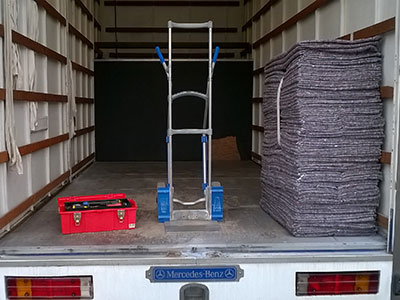 photo of u move equipment