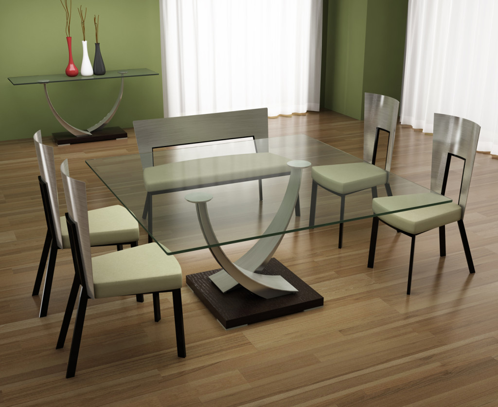 Tangent Dining Table Set