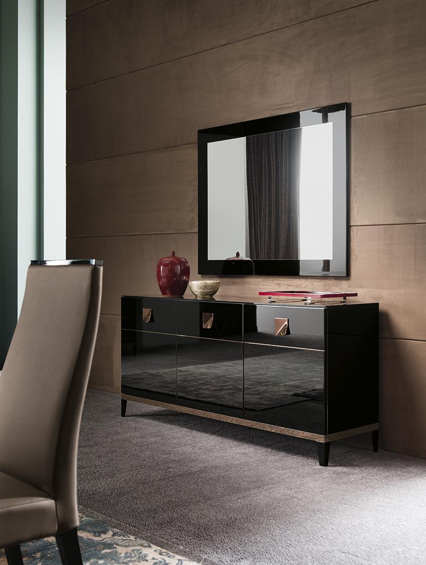Mont Noir Dining Room 3/D Buffet & Mirror