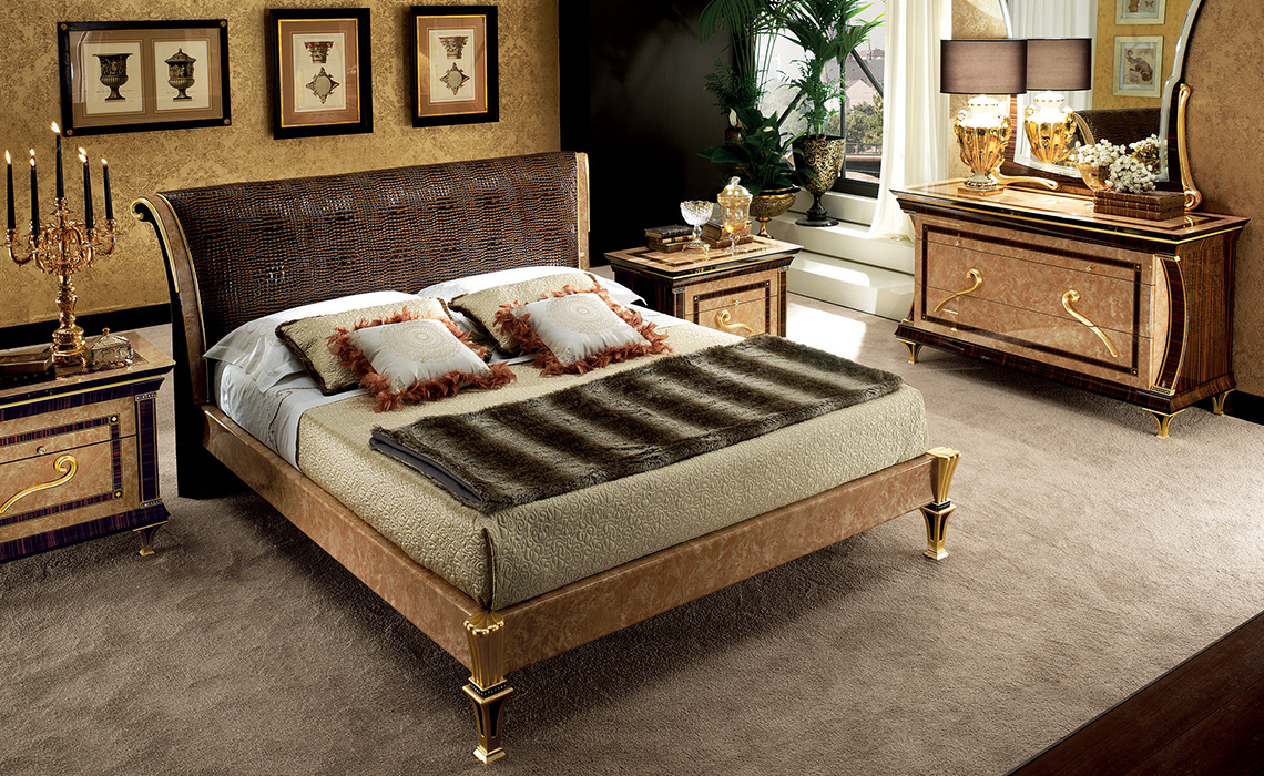 Rossini Bedroom upholstered bed