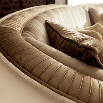 Rossini Living room sofa details