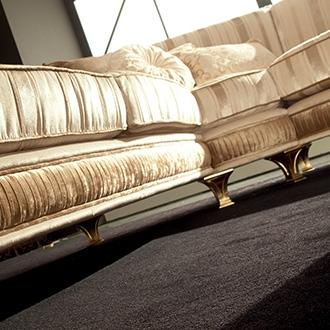 Rossini Living room  sofa frontal 2