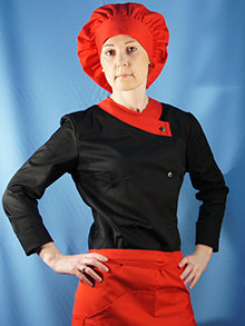Женская поварская одежда