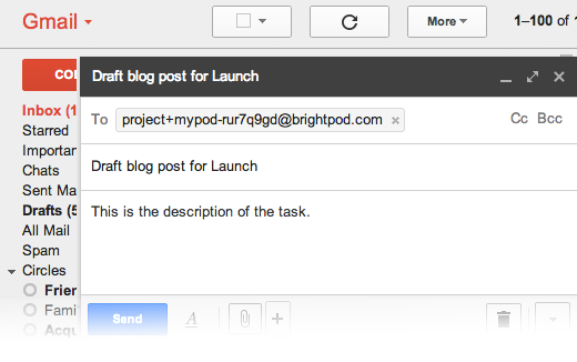 Email Integration with Brightpod Send