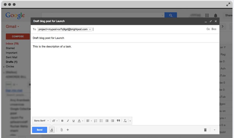 Brightpod Send - Email Integration