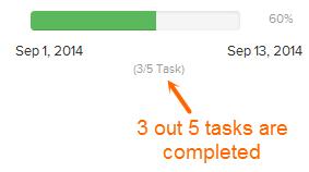 Brightpod - Milestone Status changes as a Task or Task List completes