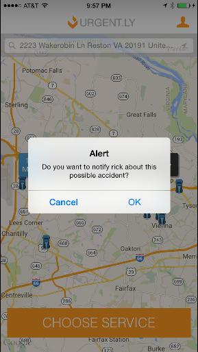 app accident detection familyview