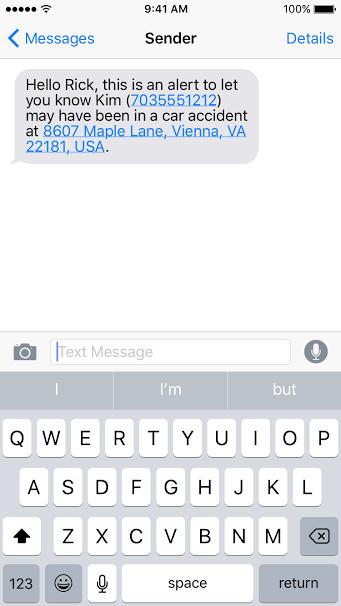 Familyview notification