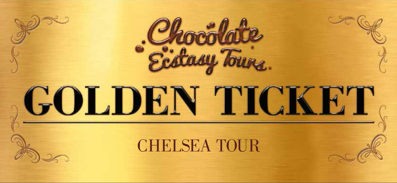 Chocolate Tour Golden Ticket