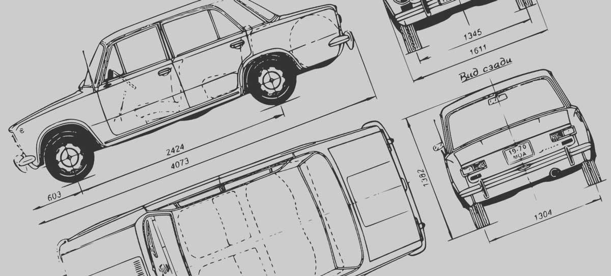 car diagram drawings