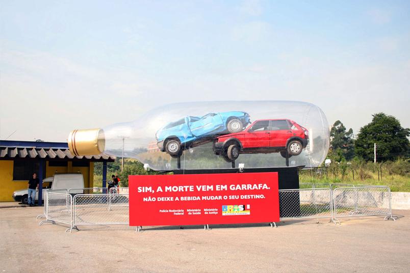 A intervenção chamou a atenção do público nas principais rodovias federais em 5 estados brasileiros.
