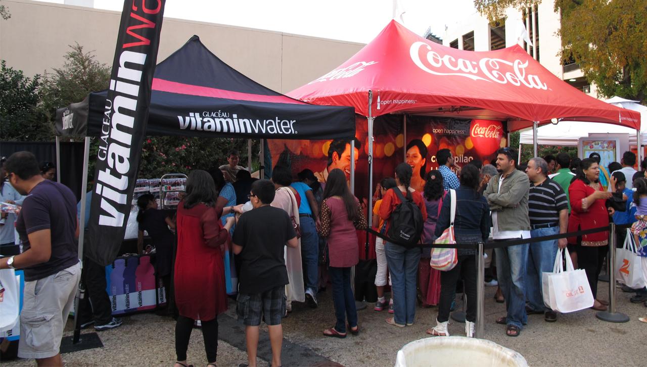 Coca Cola Diwali festival cotton bowl stadium. & Coke Cola Diwali Festival Cotton Bowl Stadium.