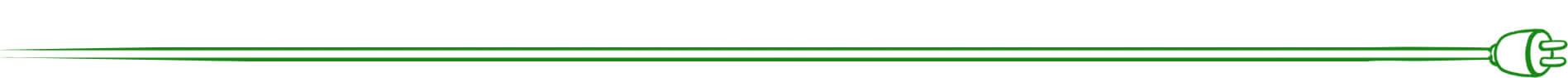 Stromanbieter Vergleich - Kapiteltrenner grünes Stromkabel unten