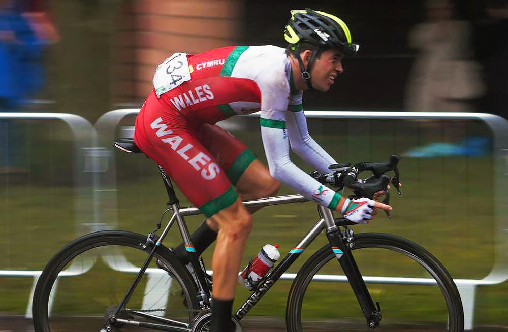 Scott Davies Commonwealth Games Road Race
