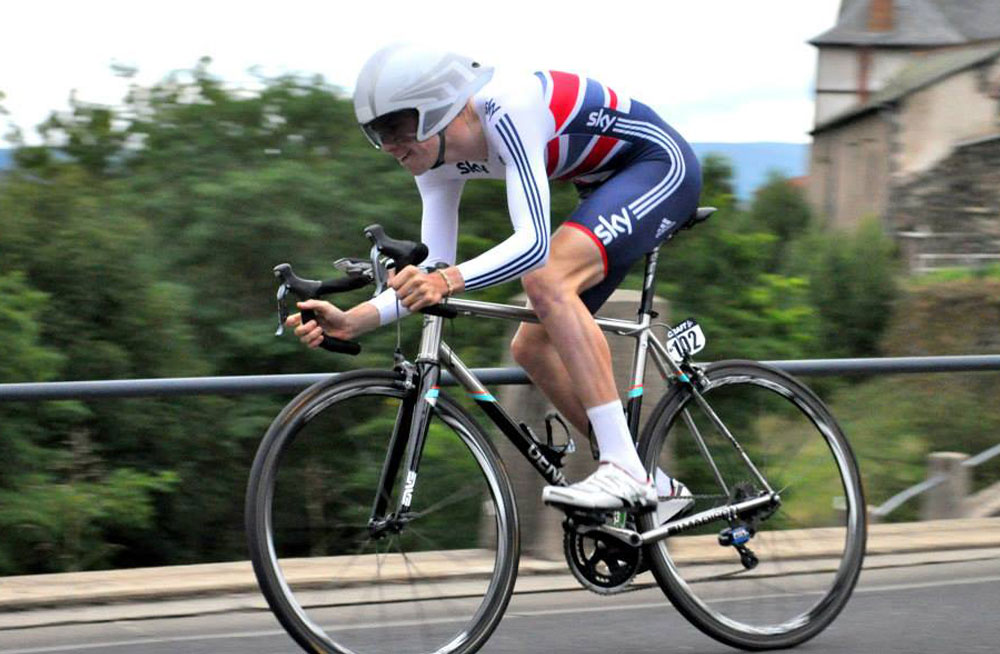 Scott Davies L'Avenir Time Trial