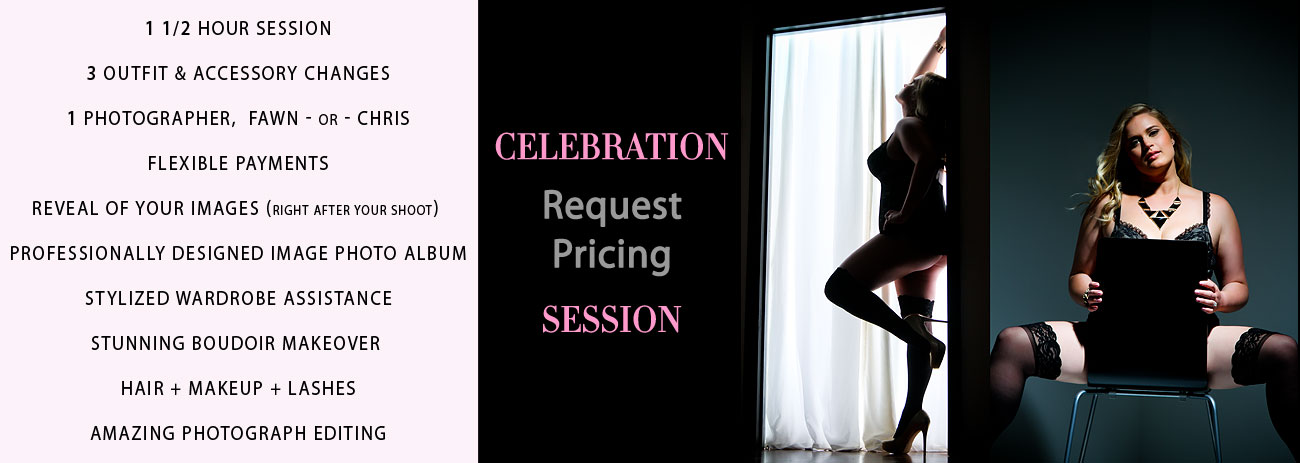 NJ Boudoir Photography Session Pricing Link