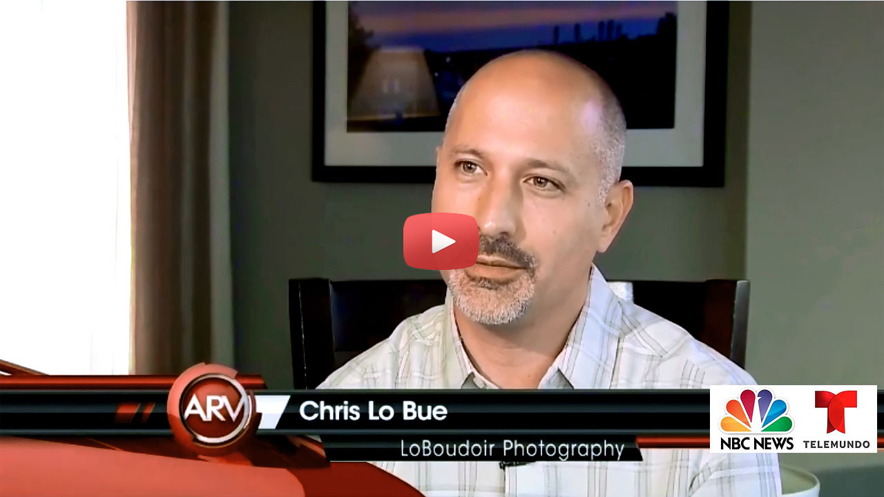 Loboudoir Photography Video - Telemundo Boudoir Interview Story