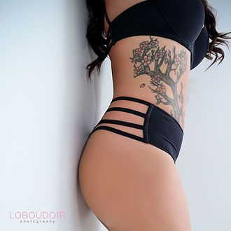tattoo boudoir photographs