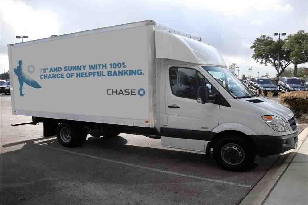 Chase billboard ad