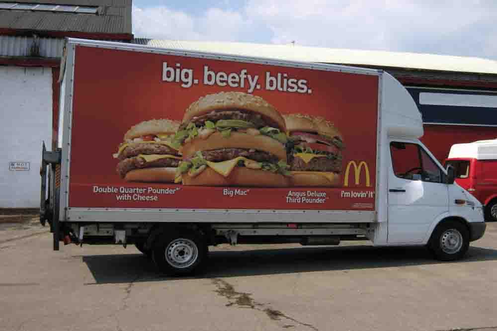 mc donalds billboard ad