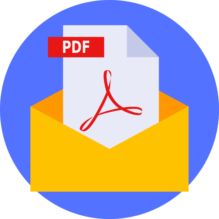how to add links to pdf in an email
