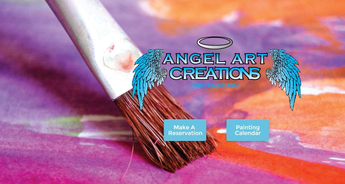 Painting Studio Website Design | Oregon City