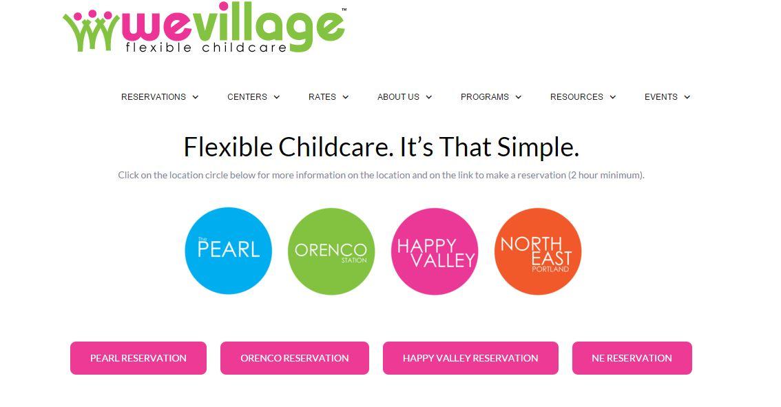 Child Care Website Design | Portland Oregon