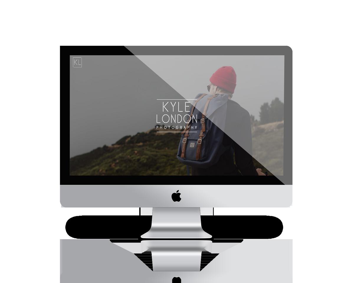 Kyle London Responsive website interface