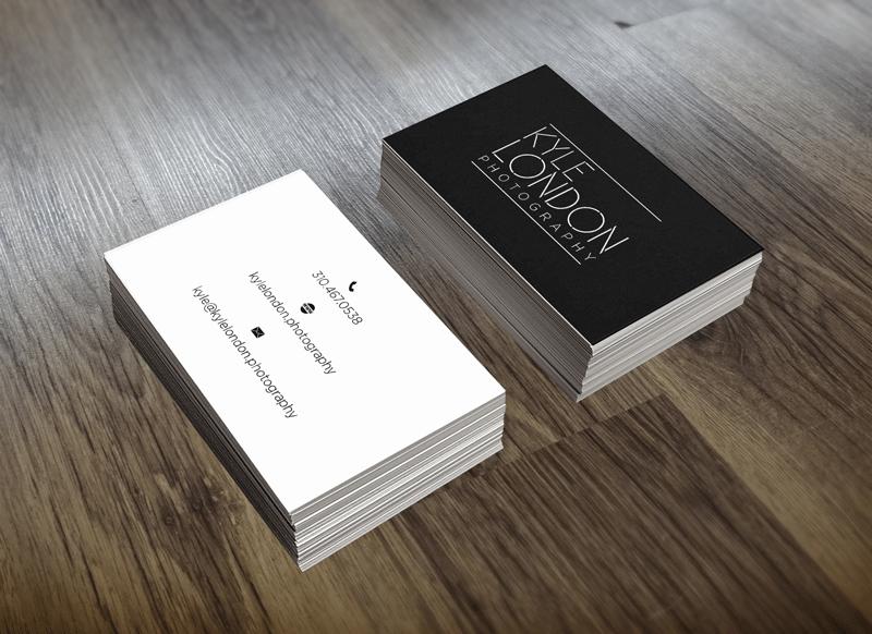 santa barbara business card design