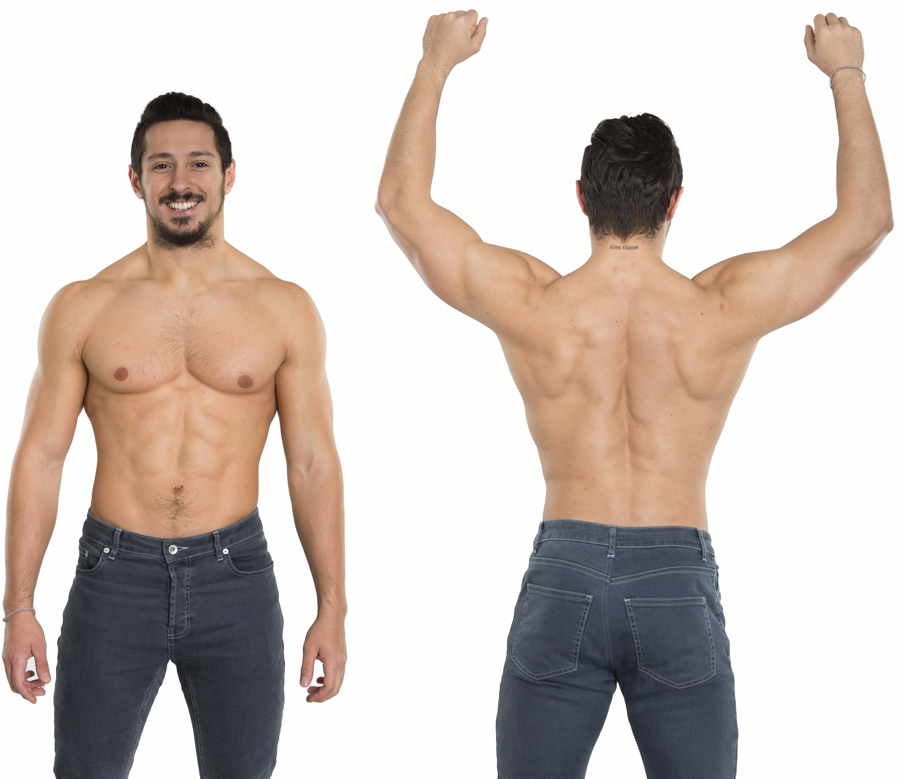 Male large ideal physique