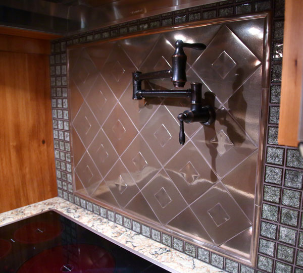 Custom Tile Backsplash