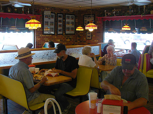 Photo of people eating at Dairy Palace