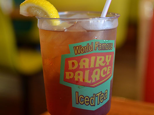 Photo of Dairy Palace's world famous iced tea