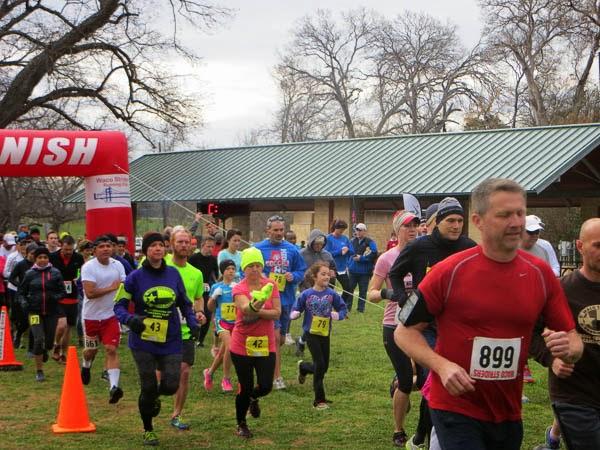 Cross Country Trail Run - 2015
