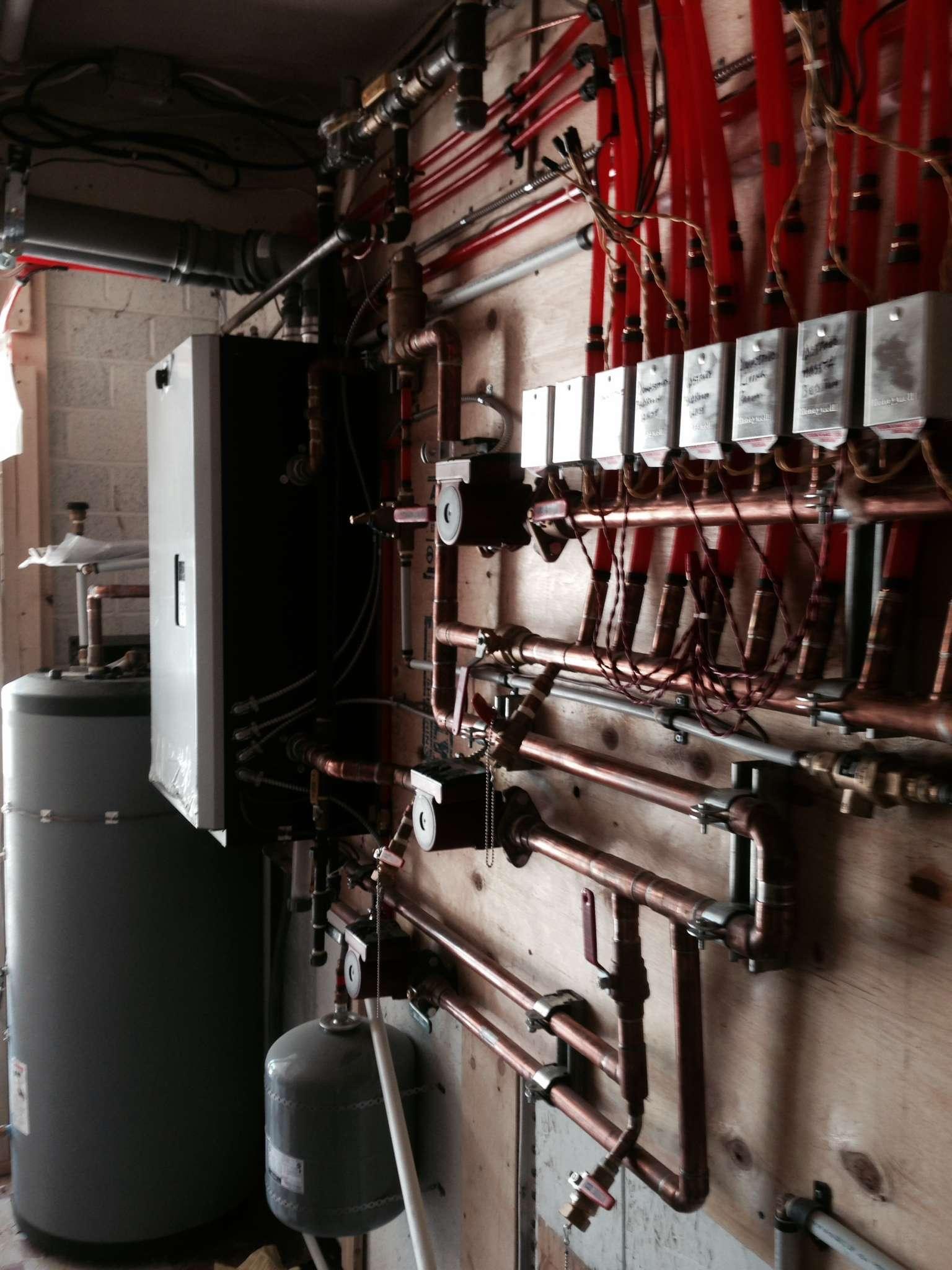 IBC Boiler Installation Home Heating