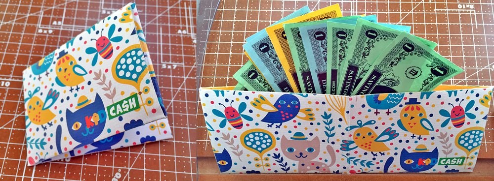printable wallets - Teach kids money, focus, discipline and more with Kid Cash