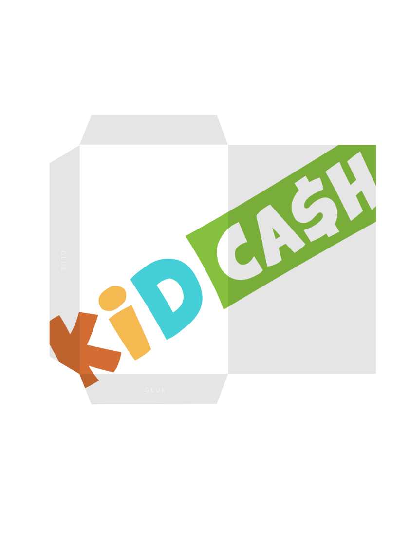 free printable wallets - Teach kids money, focus, discipline and more with Kid Cash