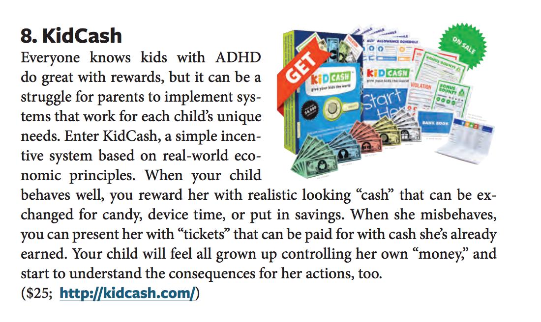 additude magazine adhd - Teach kids money, focus, discipline and more with Kid Cash