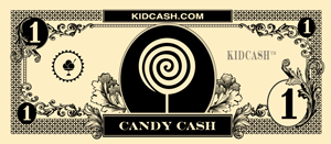 teach kids limit junk food with kid cash candy dollars