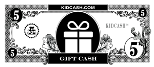 teach kids generosity with kid cash gift dollars