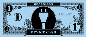 teach kids limit devices with kid cash device dollars