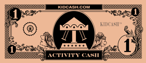 teach kids how to budget with kid cash activity dollars