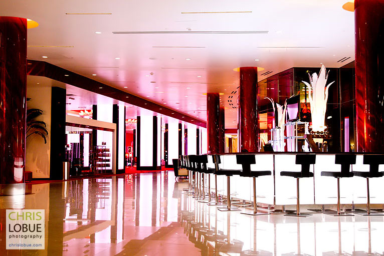 Planet Hollywood Hotel - Architectural Interior Photography - Las Vegas- Chris Lo Bue Photography